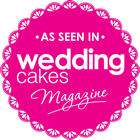 logo wedding cakes magazine